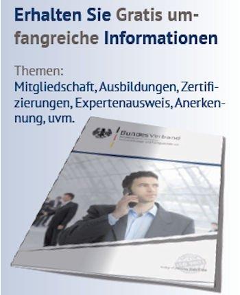 Gratis Info Broschüre
